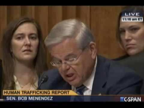 Menendez on Cuba and the Corrupt  TIP REPORT