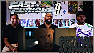Fast & Furious 9 Official Trailer Reaction