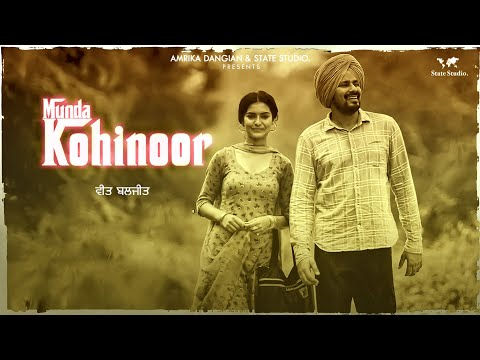 Munda Kohinoor | Veet Baljit | Nick Dhammu | Full Video | Latest Punjabi Song 2018 | State Studio