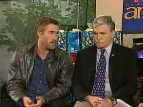 """Roy Dupuis-""""Shake Hands With The Devil"""" interview in english"""