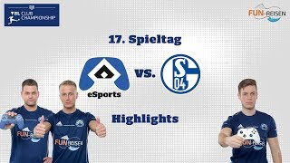 HSVeSports | Die Highlights des 17. Spieltags der VBL