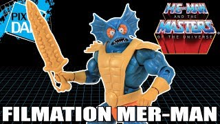 Filmation Mer-Man He-Man and the Masters of the Universe Figure Video Review