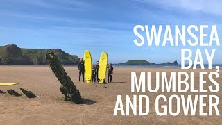 Adventure weekend in Swansea Bay, Gower and Mumbles, Wales