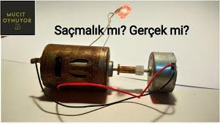Saçmalık mı Gerçek mi? Elektrik motorundan sınırsız elektrik üretmek.