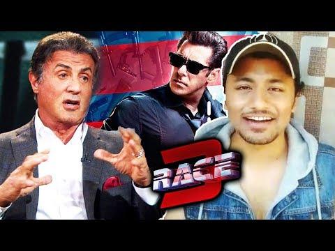Sylvester Stallone tes Salman's RACE 3  Best Of Luck RACE 3 Team