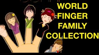 World Finger Family Collection - French/Chinese/Russian/Indian/Japanese/Arab