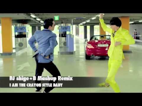 【YG Mashup】2NE1, BIGBANG, PSY - I AM THE CRAYON STYLE BABY (Dj shige☆B Mashup)