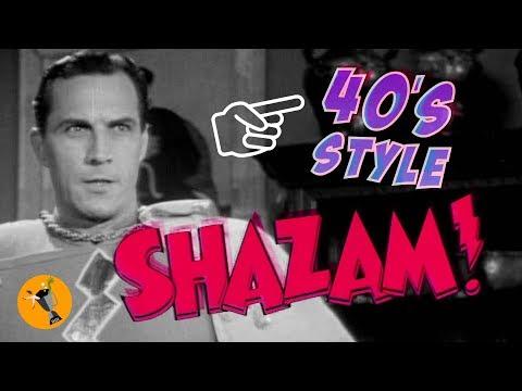 SHAZAM! 40s style trailer