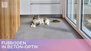 Fußboden in Beton-Optik | Renovieren mit Elmar