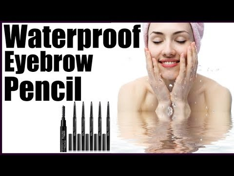 Best Waterproof Eyebrow Pencil for Swimming - YouTube