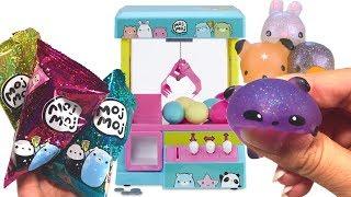 Moj Moj squishy toys ! Claw Machine Playset
