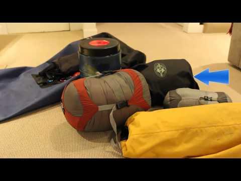 Kayak Camping - Packing Strategies