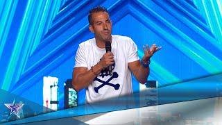 ¡Su ABSURDO sentido del HUMOR te hará REÍR como NUNCA! | Audiciones 8 | Got Talent España 5 (2019)
