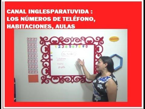 número de teléfono Inglés baile