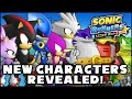 Sonic Runners - New Characters Revealed! (Shadow, Metal Sonic, Big, Silver, Espio, Blaze, & More)