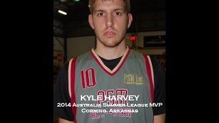 2014 Australia Summer League Player Testimonial - KYLE HARVEY