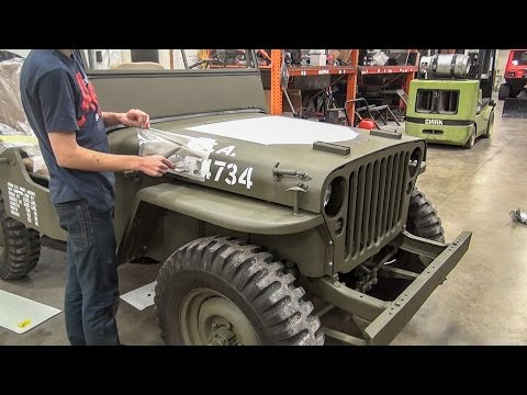 Thumbnail: Willys Jeep Restoration Short Time Lapse - [No Music]