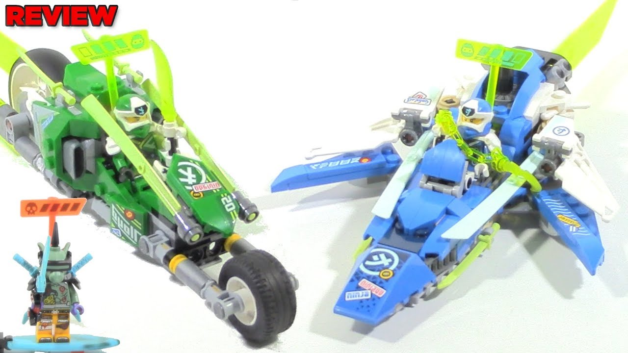 Download LEGO Ninjago 71709 Jay and Lloyd's Velocity Racers review