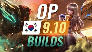 12 NEW Korean Builds to Copy in Patch 9 10 League of Legends Season 9