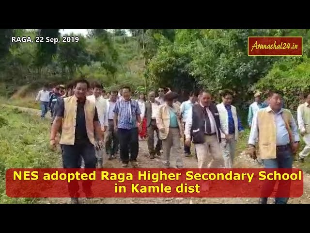 Arunachal -NES adopted Raga Higher Secondary School in Kamle dist