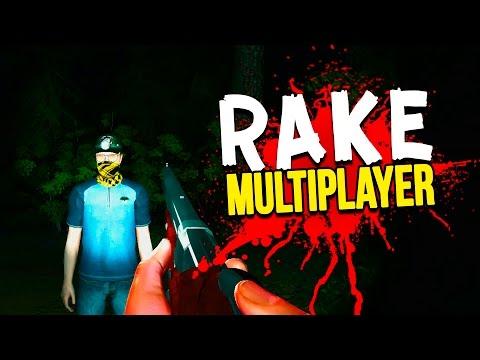 Rake Multiplayer - ДВА МУЖИКА И МОНСТР! (Угар!)(Кооп)
