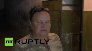 Ukraine: Bomb shelters equipped in Lugansk as residents fear attacks