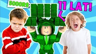 10 YEAR OLDS FIGHT FOR 5000 ROBUX! * He was strapping *