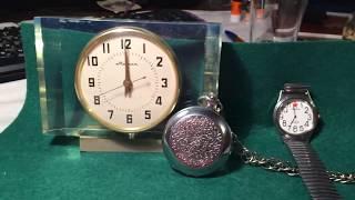 ЦЕНЫ НА ЧАСЫ СССР/ Карманные часы Молния.Rusia RULIT 54