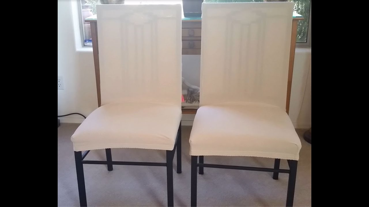 subrtex dining room chair slip on removable covers - youtube