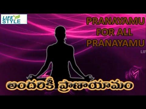 Pranayamu For All  Kapalabhati Pranayam Telugu Lifestyle