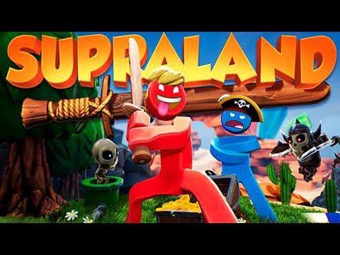 Supraland Köyünde Macera Eğlencesi #Çizgifilm Tadında Yeni Oyun  