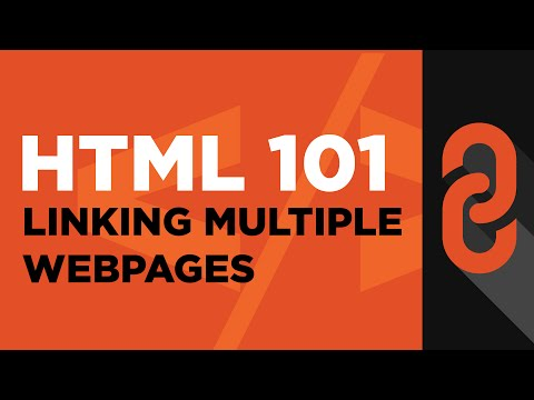Linking Multiple Webpages Using Anchor Element Tag | HTML 101 (Online HTML Course) Lesson 5
