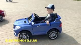 Mercedes-Benz ML350 - обзор детского электромобиля