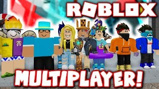 NEW MULTIPLAYER MODE in FLOOD ESCAPE 2 MAP TEST!! *Test NEW Maps With Friends!* (Roblox)