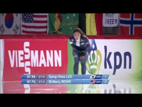 Sang-Hwa Lee 500m - 37.33 (TR). World Cup 3 Inzell 2015//2016