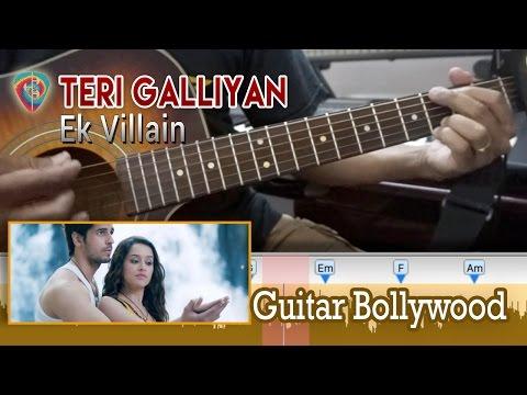 "#Learn2Play ★★ ""Teri Galliyan"" (Ek Villain) chords lesson - Guitar Bollywood"