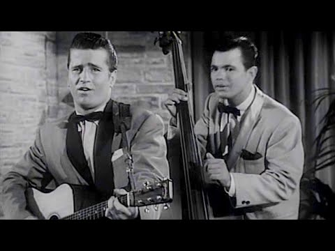 Johnny Burnette Rock'n'roll Trio - Lonesome Train (1956) - HD