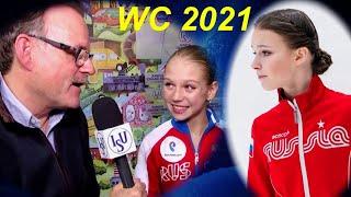 Тед Бартон о Трусовой и Щербаковой на Чемпионате мира 2021