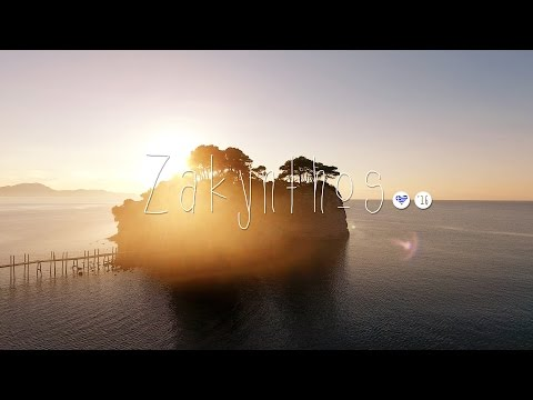 Zante, Zakynthos, Greece - Ionian island in the sky - 4K drone aerials DJI Phantom 4