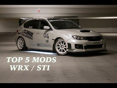 Top 5 Performance MODS For Subaru WRX/STi