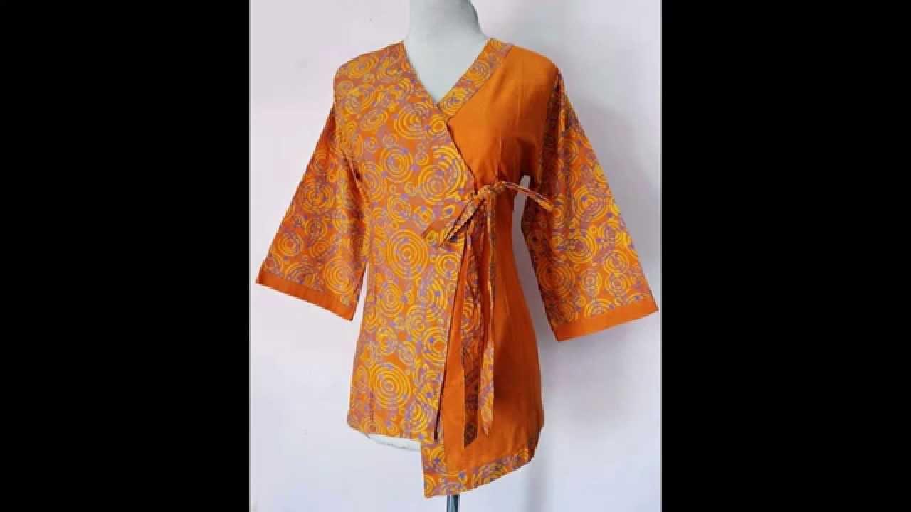 Pola Baju Atasan Model Kimono Ruang Belajar Siswa Kelas 2