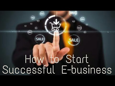 (Hindi)How to start a successful E-business.
