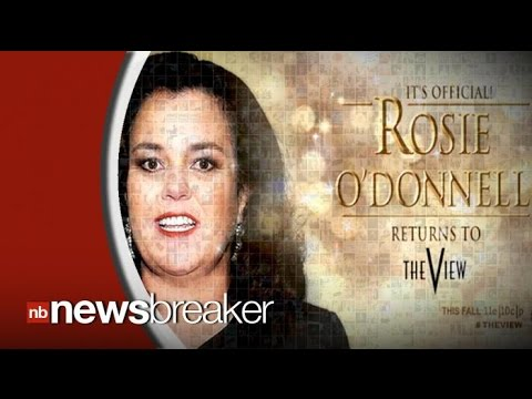Rosie O'Donnell is Officially Back at 'The View' Following Host Shake Up
