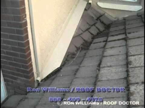 Roof Repairs Roof Valley Or Cricket Issues Youtube