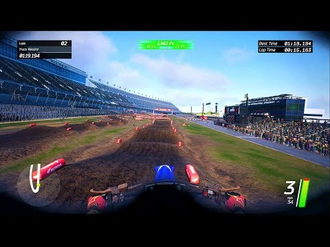 Helmet Cam First Person Monster Energy Supercross: The Official Videogame
