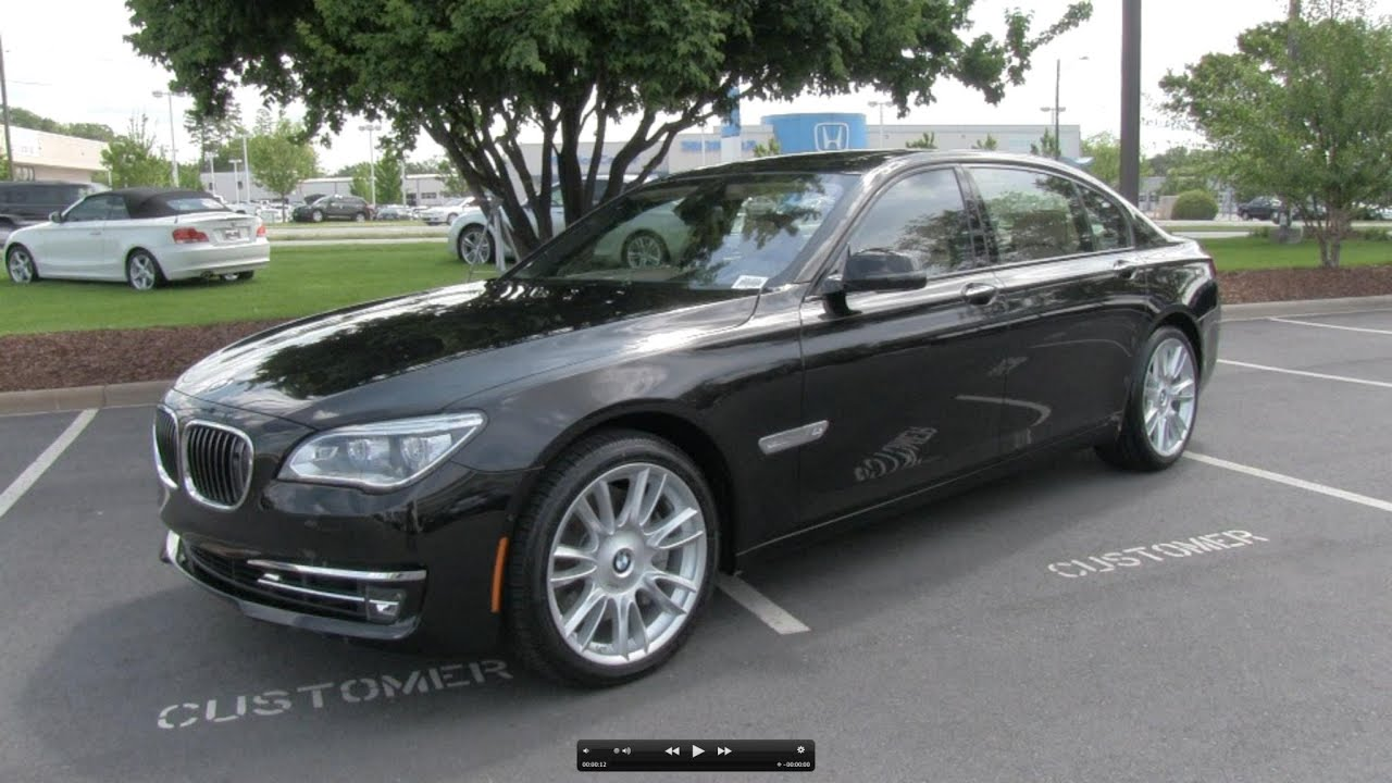 2013 bmw 760li 25 years edition start up, exhaust, and in depth