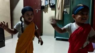 Twin baby funny dance compilation (Rupban Nache komor dulaiya)