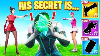 I GUESSED My Friend's SECRET for Weapons (Fortnite)