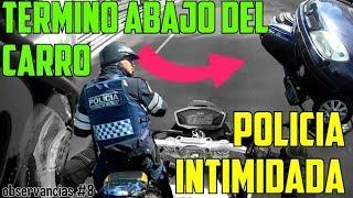 MOTO CHOCA Y QUEDA DEBAJO DEL AUTO | POLICIA ES CHAROLEADO FRENTE A MI