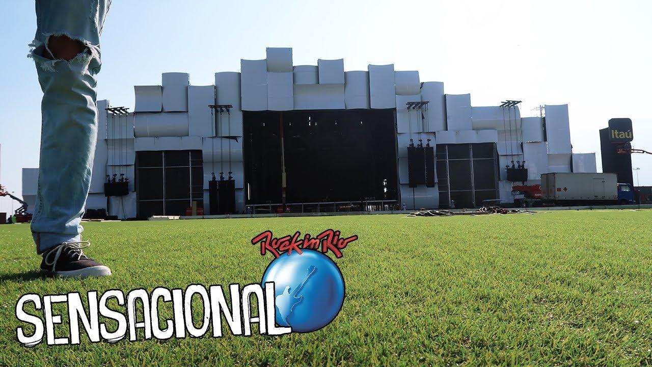 VEJA como FICOU O ROCK IN RIO 2017!!!